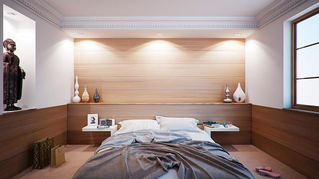 Vårigt sovrum