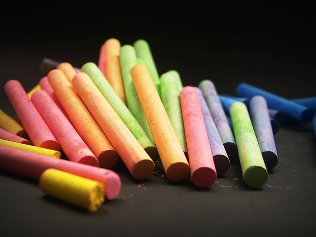 Måla med ljusa färger